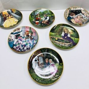Collectible Plates Fairy Tale Kaiser Set of 6